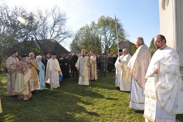 Biserica din Zimbor a fost resfințită