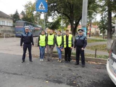Elevii din Jibou au fost pentru câteva ore membri ai patrulelor de poliție