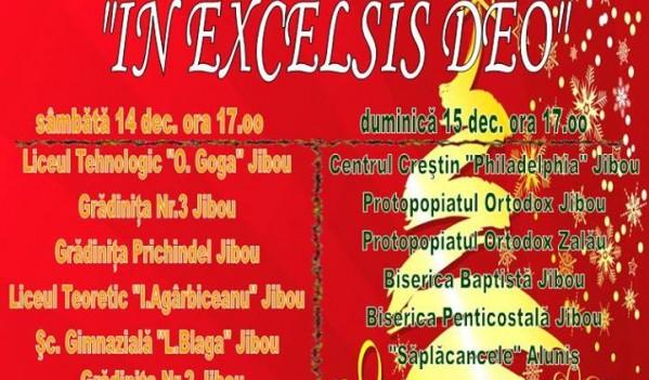 "Concerte de colinde ""In Excelsis Deo"", la Jibou"