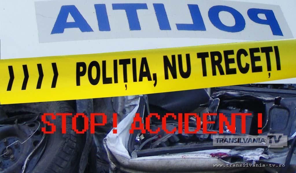 Poarta Sălajului: Cetățean polonez rănit grav, după explozia unei anvelope de la mașina pe care o conducea