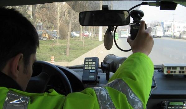 Mii de conducători auto sancționați pentru viteză de polițiștii sălăjeni, în primele zece luni ale anului