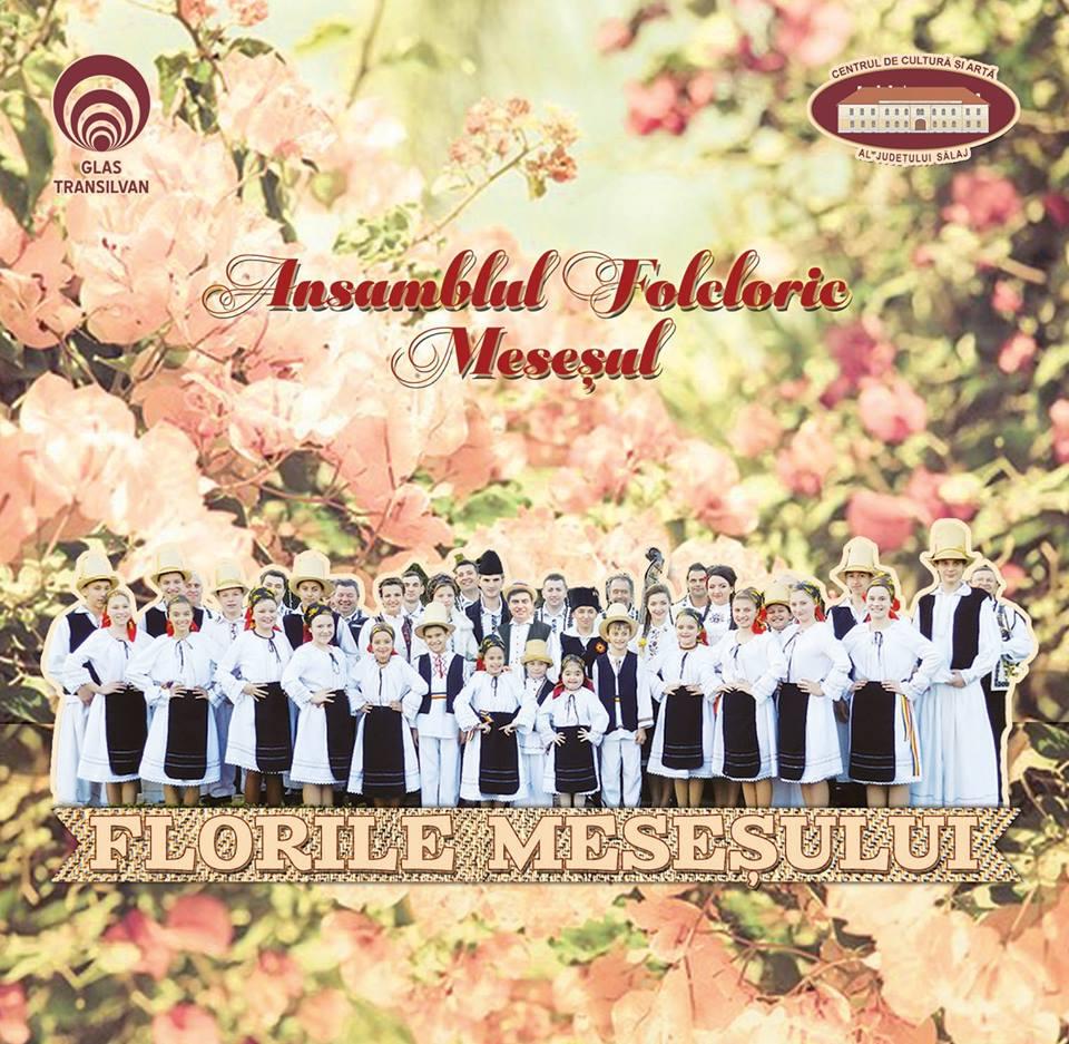 """""""Florile Meseșului"""", un nou album al Ansamblului folcloric Meseșul al Centrului de Cultură și Artă al Județului Sălaj"""
