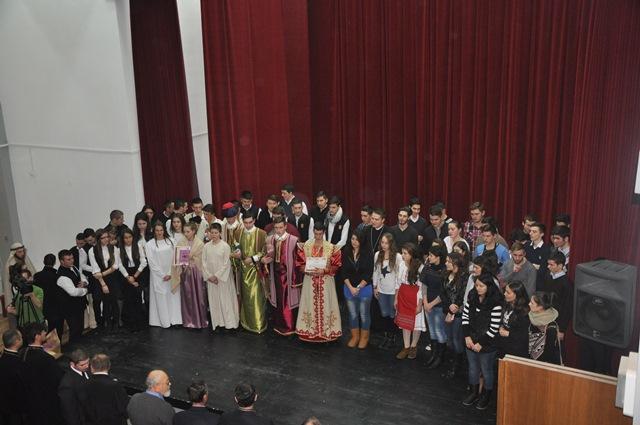 """Zile de sărbătoare la Liceul Ortodox """"Sfântul Nicolae"""" din Zalău"""