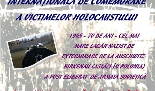 Ziua Internaţională de Comemorare a Victimelor Holocaustului, aniversată la biblioteca din Zalău