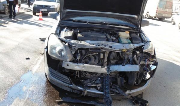 Accident produs pe bulevardul Mihai Viteazul din Zalău