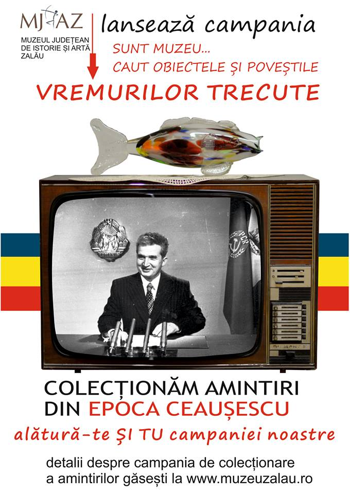 """Campanie inițiată de Muzeul Județean de Istorie și Artă Zalău: """"Sunt muzeu...Caut obiectele și poveștile vremurilor trecute!"""""""