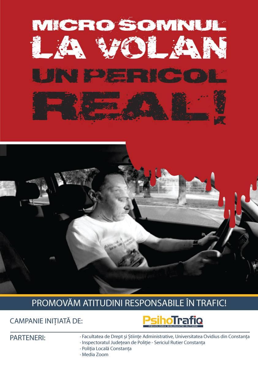 România, locul doi în topul accidentelor auto din U.E. (Micro)Somnul la volan – un pericol real