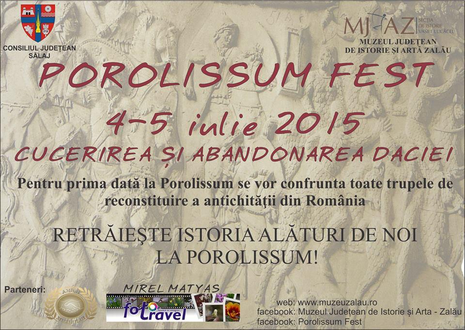 Vezi programul ediției a 5-a a manifestării Porolissum Fest (4-5 iulie)