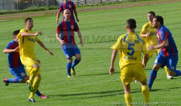 FC Zalău s-a întors cu punct de la Cluj-Napoca