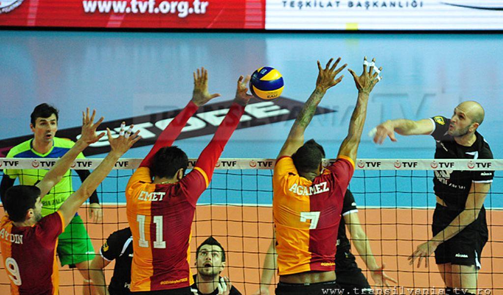 Vicecampionii primesc vizita turcilor de la Galatasaray