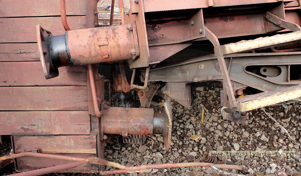 Dezastru feroviar în Letca (VIDEO-Galerie FOTO)