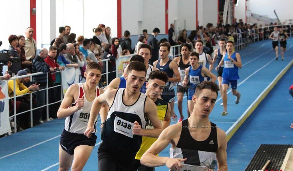 Raul Crecan a cucerit bronzul național la 800 m