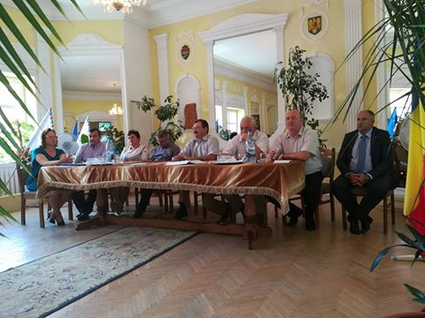 Ședință a Asociației Comunelor din România-filiala Sălaj, la Pericei