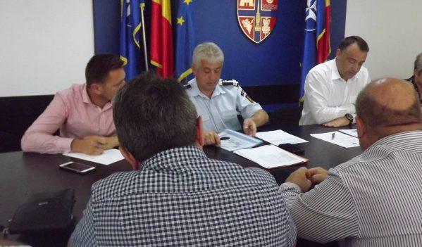 Avaria de la conducta de aducțiune a apei potabile Vîrșolț-Zalău a determinat convocarea CJSU Sălaj