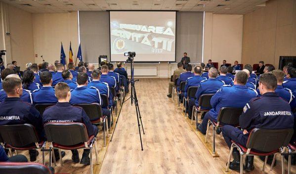 Evaluarea activităţii Inspectoratului de Jandarmi Judeţean Sălaj pe anul 2017