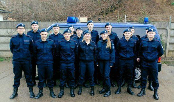 Elevi ai şcolilor militare de subofiţeri, în practică la Inspectoratul de Jandarmi Judeţean Sălaj