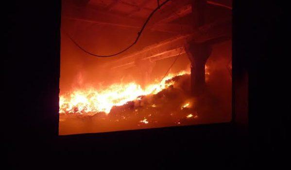 Incendiu în Nușfalău
