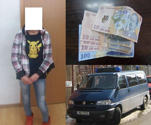 Jandarmii sălăjeni au prins în flagrant o femeie în timp ce încerca să fure dintr-o locuinţă