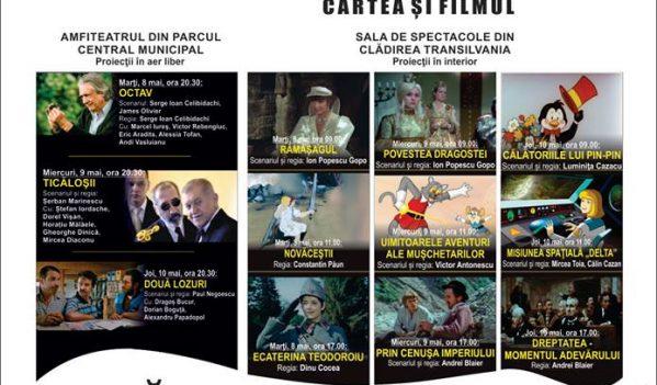 """""""Caravana filmului românesc – Cartea și filmul"""" ajunge din nou la Zalău"""