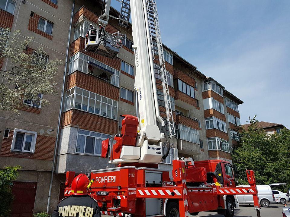 Pericol înlăturat de pompierii zălăuani
