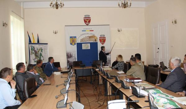 Discuții la Primăria Zalău, referitoare la construcția centurii ocolitoare a orașului