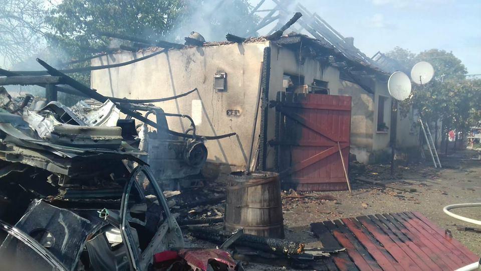 Incendii în Horoatu Crasnei, Poarta Sălajului și Zalău