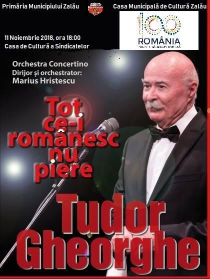 Concert la Zalău cu Tudor Gheorghe