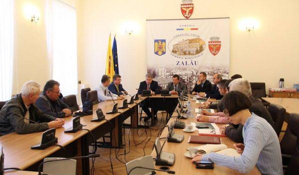 Întâlnire la Primăria Zalău, pe tema centurii ocolitoare a orașului