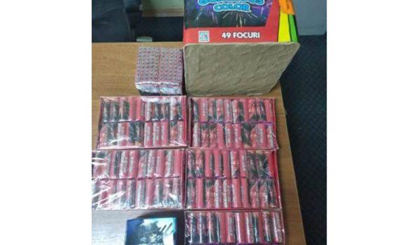 Petarde confiscate de polițiștii sălăjeni