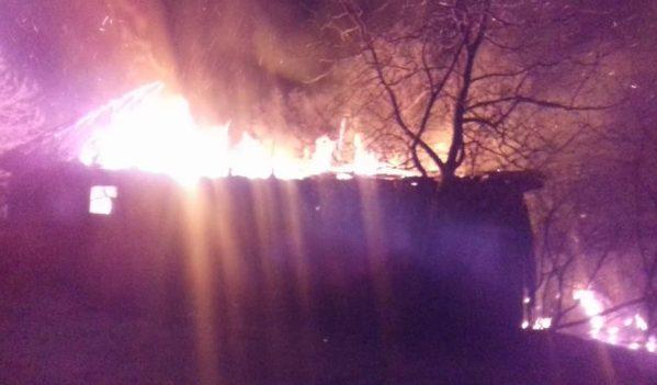 Incendiu în Stârciu. Un bărbat a murit