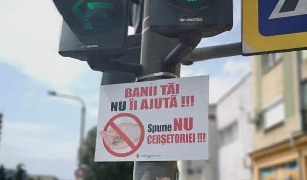 Campanie pentru combaterea cerșetoriei în Zalău