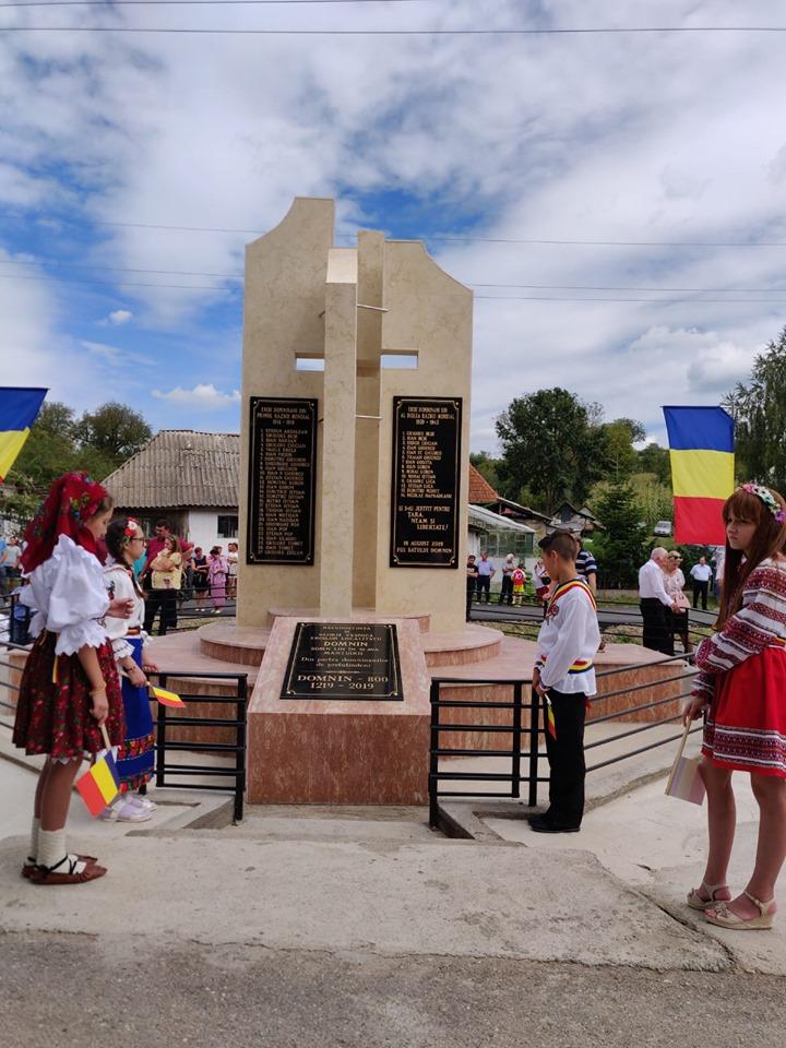 800 de ani de atestare documentară a localității Domnin