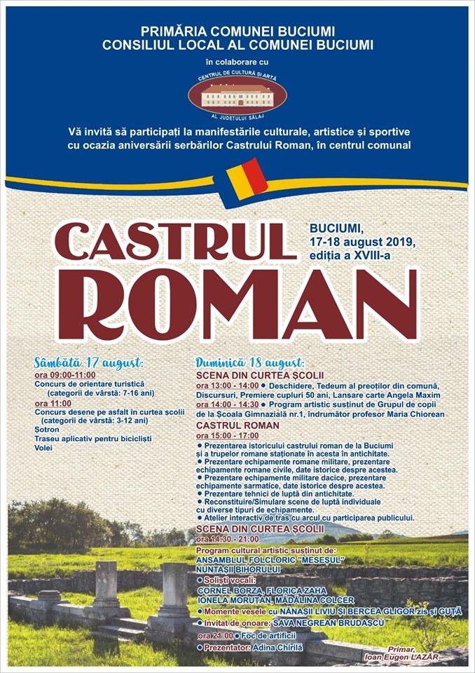 Serbările Castrului Roman de la Buciumi
