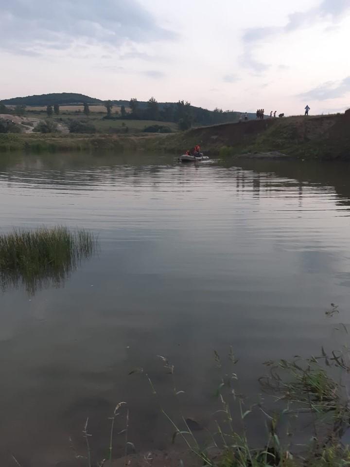 Copil înecat în balta unei balastiere din apropierea localității Almașu