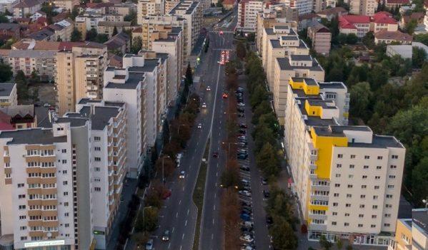 Investiție: Trotuare și pistă de biciclete pe Bulevardul Mihai Viteazul din Zalău