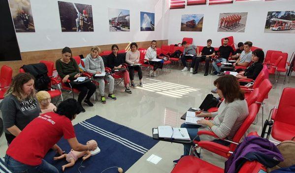 """ISU Sălaj continuă campania de instruire a voluntarilor """"Salvator din pasiune"""""""