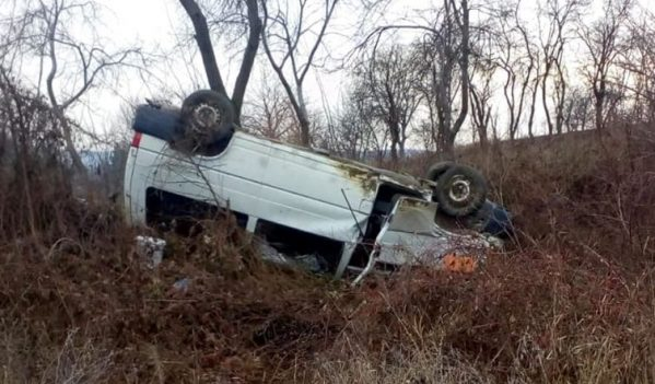 Accident la ieșire din Chieșd