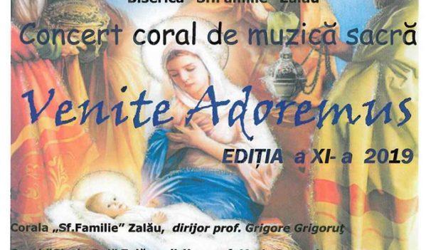 Concert coral de muzică sacră în Zalău