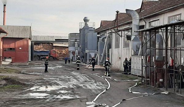 Exercițiu desfășurat de ISU Sălaj în Crișeni
