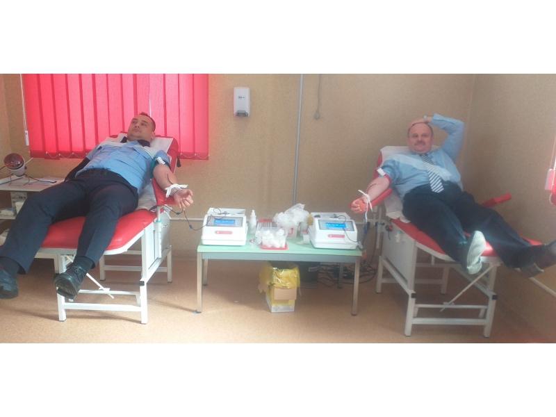 Polițiștii din Sălaj au donat sânge