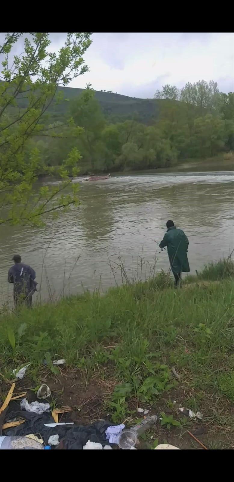 Prinși la pescuit în Jibou