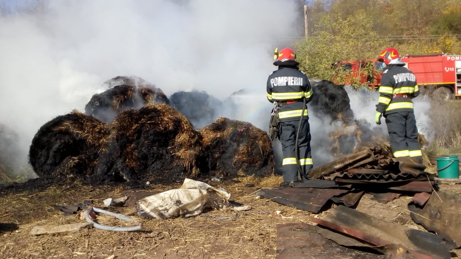 Incendiu în Someș Odorhei