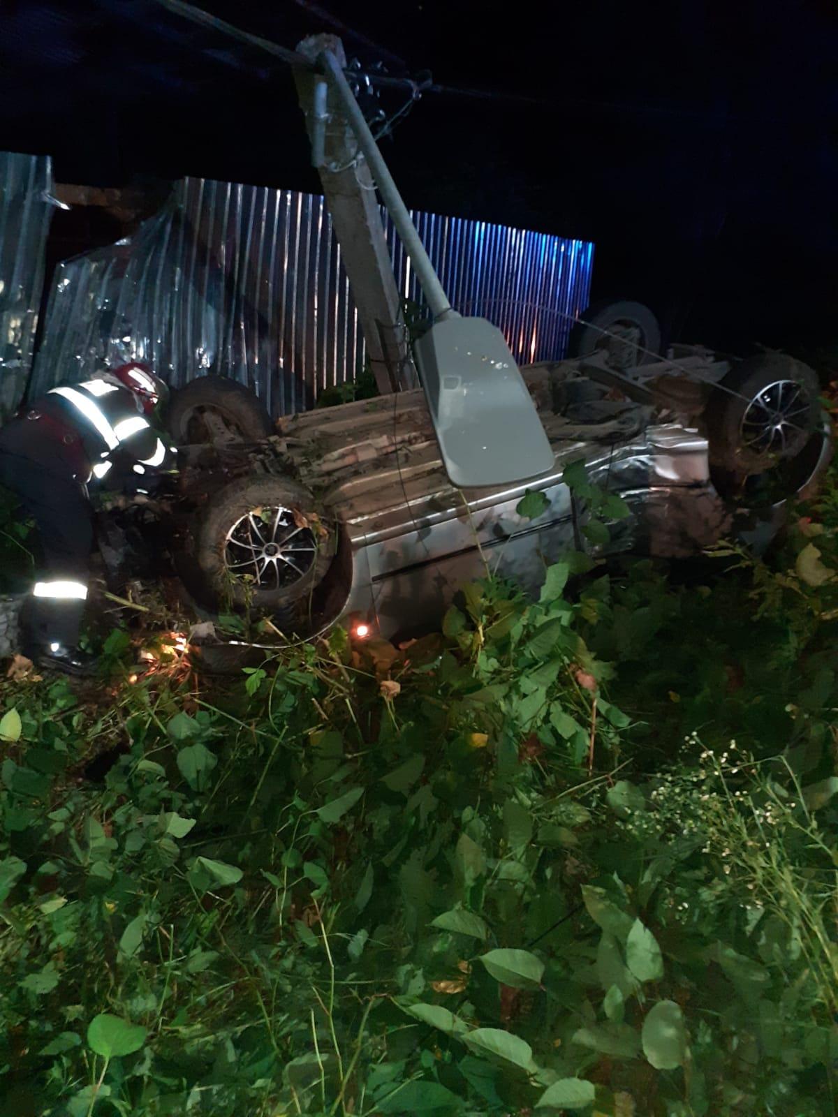 Accident grav produs în Hida