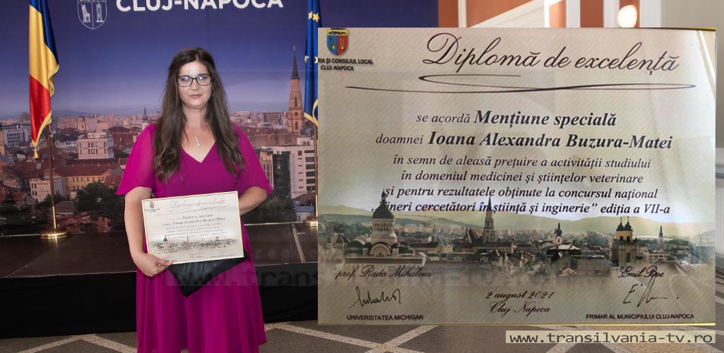 VIDEOREPORTAJ: O sălăjeancă din comuna Ileanda premiată la unul dintre cele mai prestigioase concursuri!