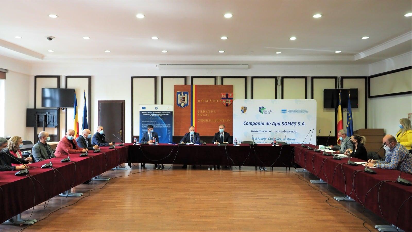 Investiție de peste 60 milioane de lei pentru aducțiunea de apă de la Tarnița către județul Sălaj