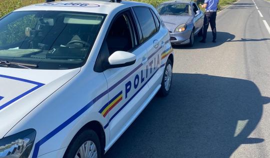 Polițiști din mai multe județe au acționat în Sălaj