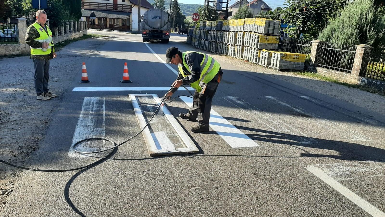 Se refac trecerile de pietoni de pe drumurile județene din Sălaj